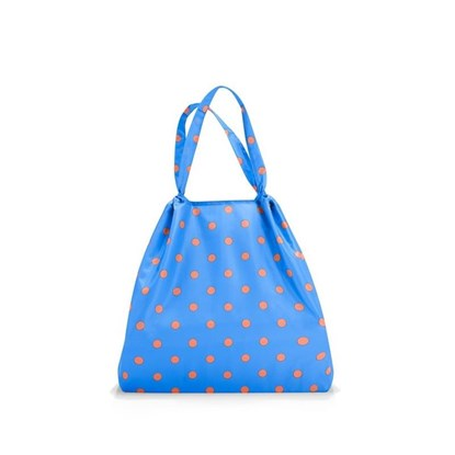 Skládací taška LOFTBAG azure dots_1