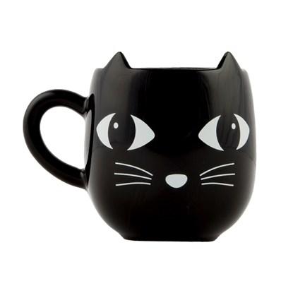 Keramický hrnek s oušky BLACK CAT_2