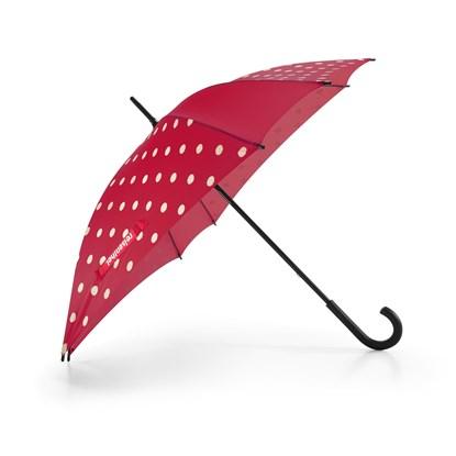 Deštník UMBRELLA ruby dots_1