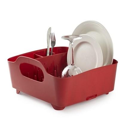 Odkapávač na nádobí TUB červený_0