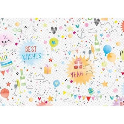 Balicí papír arch 50x70cm-Birthday-Party_0