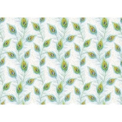 Balicí papír 50x70cm/Finest Papdr/Pfauen_0
