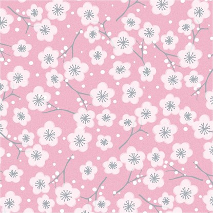 Papír. ubrousek 33x33cm Blüte rosa_0