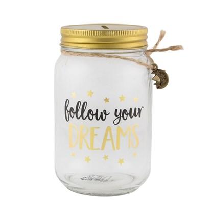 Kasička FOLLOW YOUR DREAMS_1