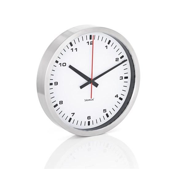 Nástěnné hodiny ERA 40 cm bílé_0