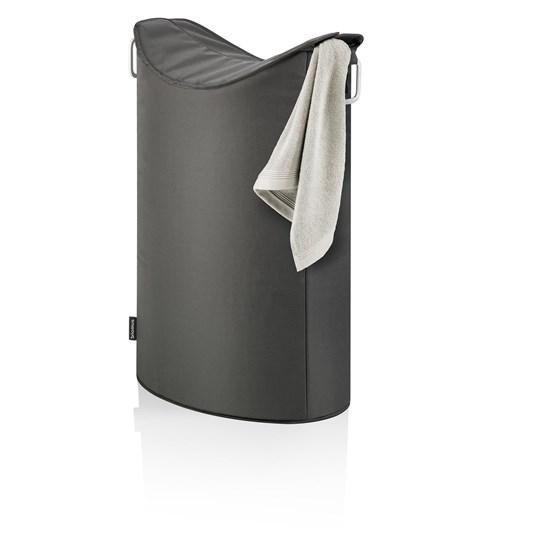 Koš na prádlo FRISCO tmavě šedý_0