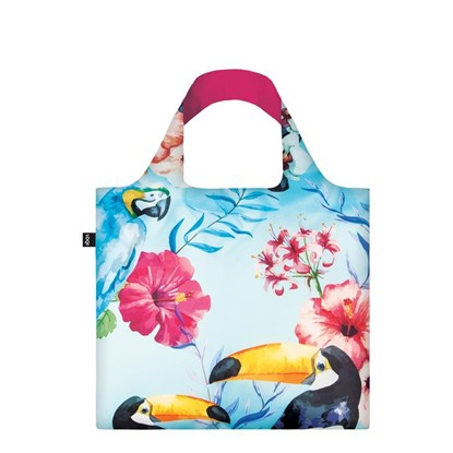 Skládací nákupní taška LOQI - WILD Birds_2