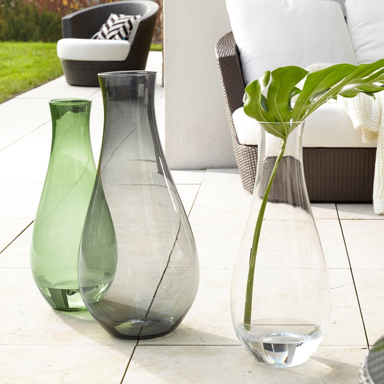 Váza GIARDINO 70 cm šedá_0