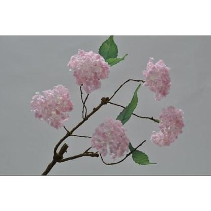 Větvička rozkvetlá růžová 37 cm_0