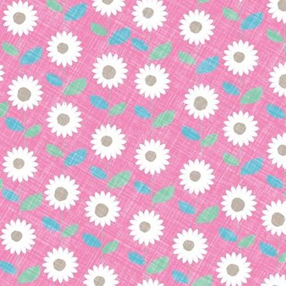 Papír. ubrousek 33x33cm sedmikráska růžo_0