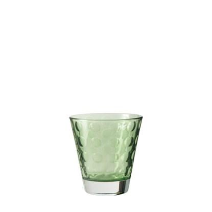 Sklenička Optic 220 ml zelená_0