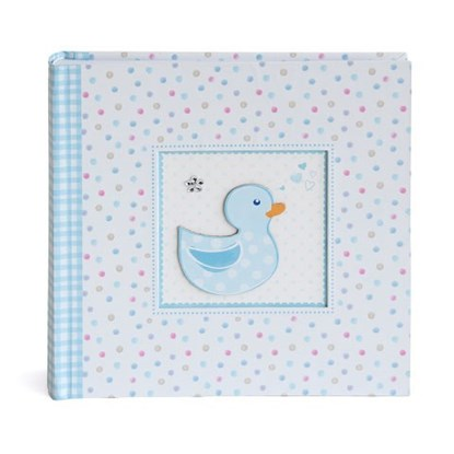Fotoalbum 23x23cm/baby/duckling/blue_0