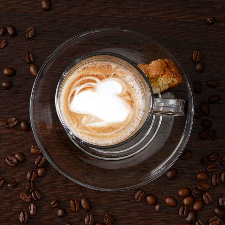 Šálek na kávu s podš. a lžičkou SENSO_2