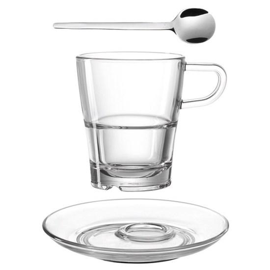Šálek na kávu s podš. a lžičkou SENSO_3