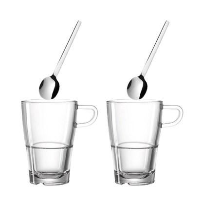 Šálek na latte se lžičkou SENSO SET/2ks_0