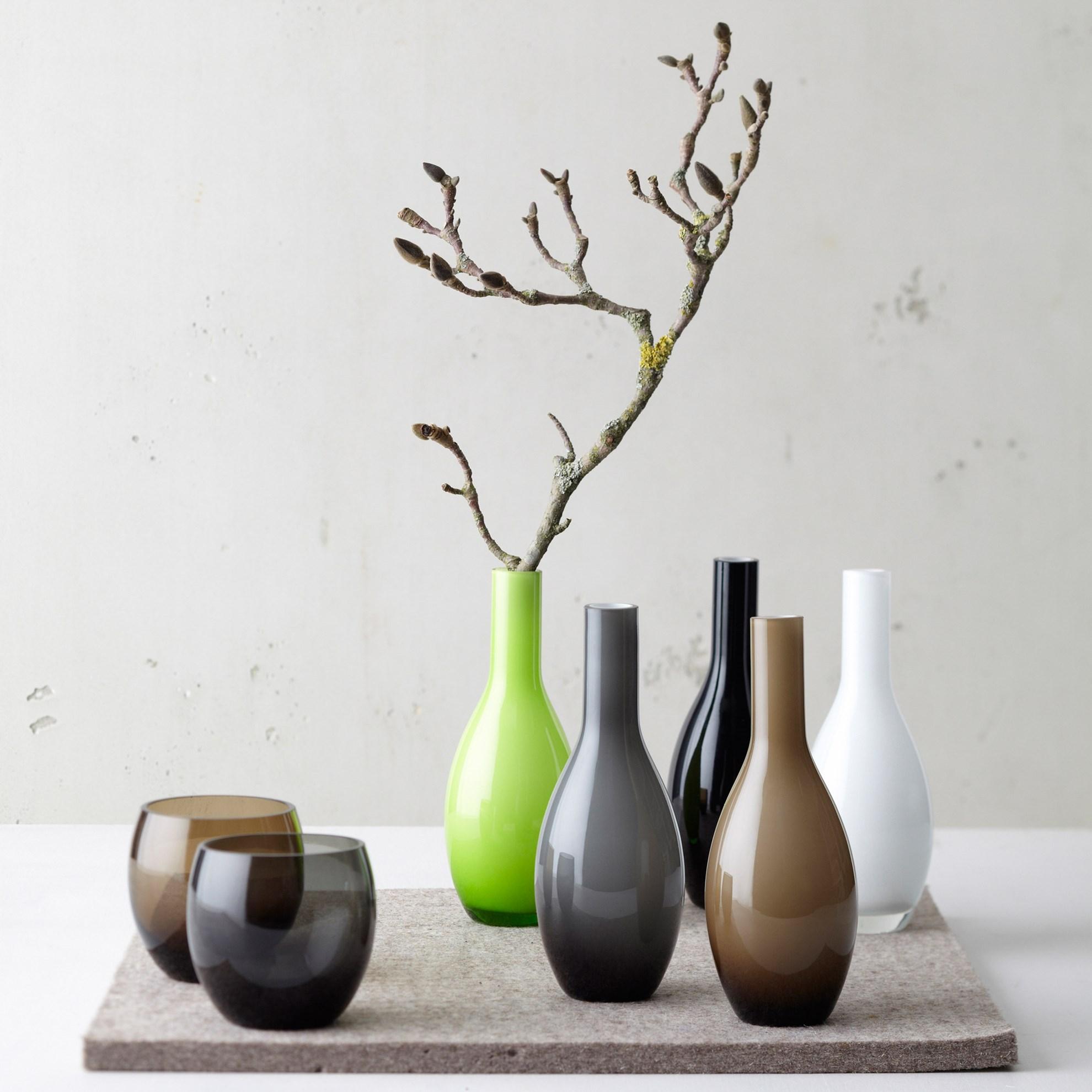 Váza BEAUTY 18 cm šedá_0