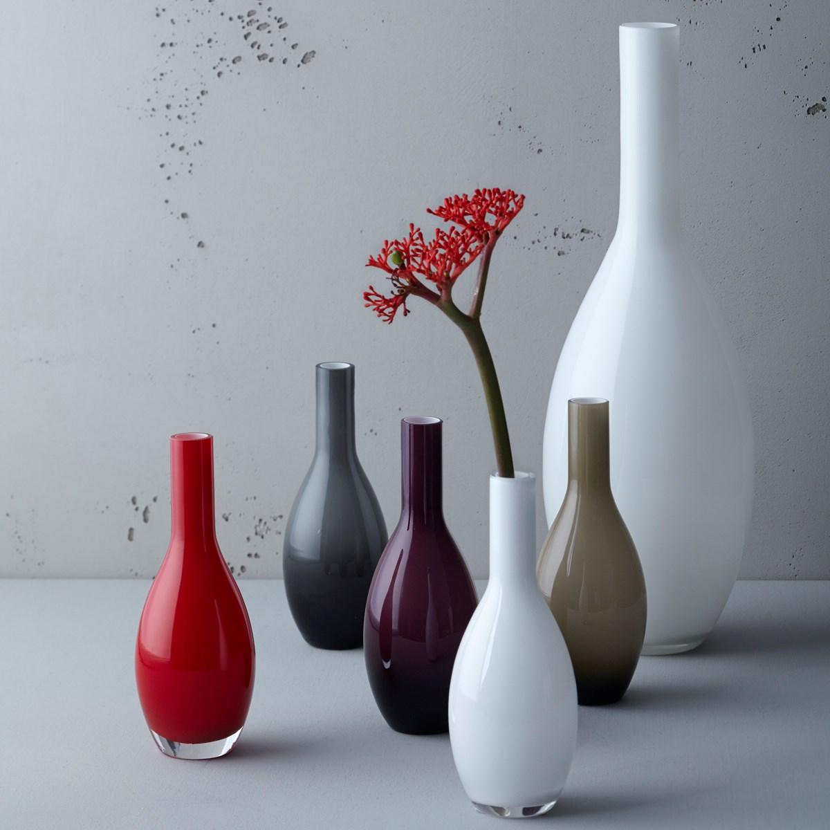 Váza BEAUTY 18 cm šedá_1