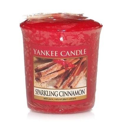 Vonná svíčka votivní Sparkling Cinnamon_0