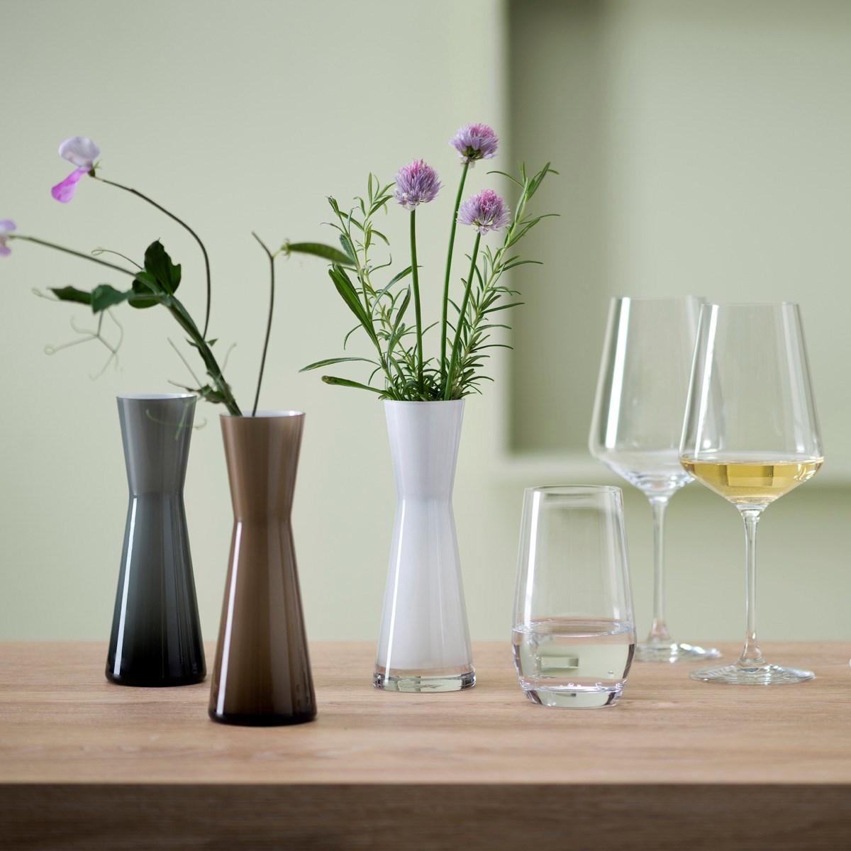 Váza Puccini 18 cm šedá_1