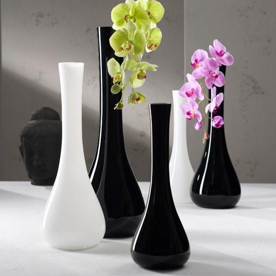 Váza SACCHETTA 40 cm bílá_0