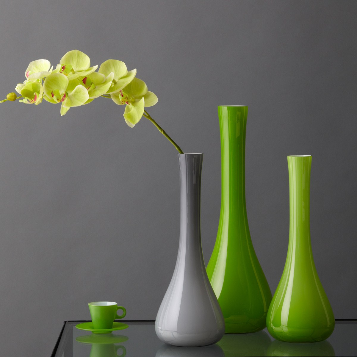 Váza SACCHETTA 60 cm zelená_0