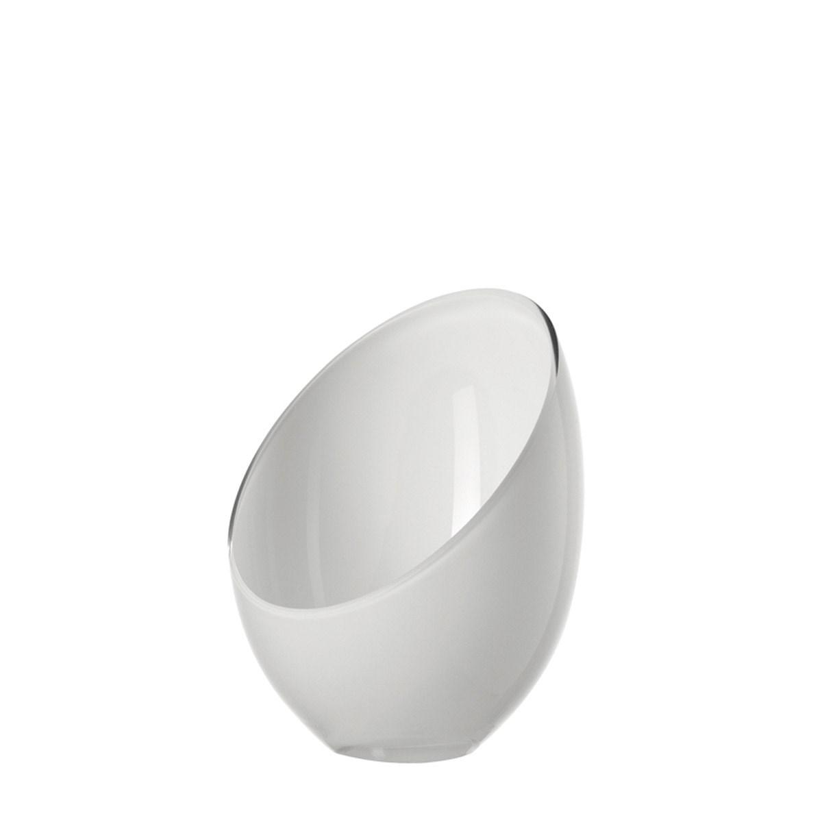 Svícen COCO 21 cm bílý_1
