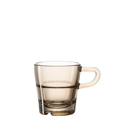 Sklenička na espresso SENSO hnědá_1