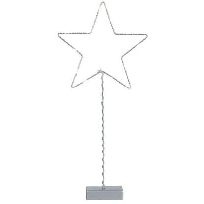 Drátěný svícen hvězda LED 42 cm_2