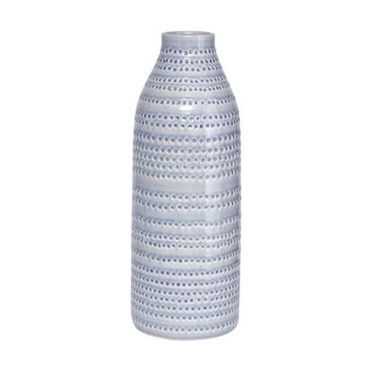 Váza CIRCLES šedá 42cm_1
