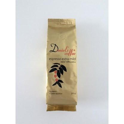 Zrnková káva Daniels coffee 250g_0