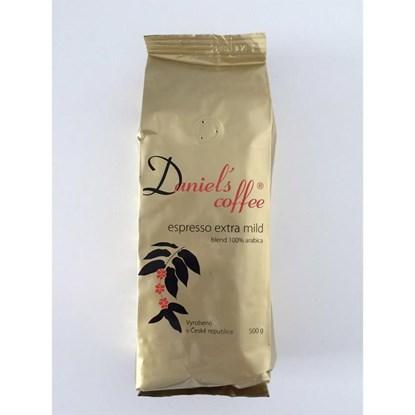 Zrnková káva Daniels coffee 500g_0