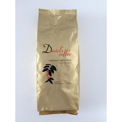 Zrnková káva Daniels coffee 1 kg_0