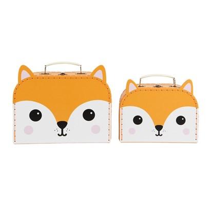 Kufříky HIRO FOX KAWAII FRIENDS SET/2ks_2