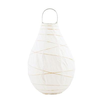 Lucerna DROP bílá 35cm_0