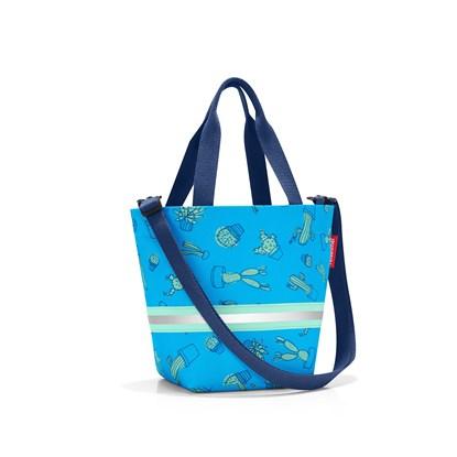 Dětská taška shopper XS kids cactus blue_0
