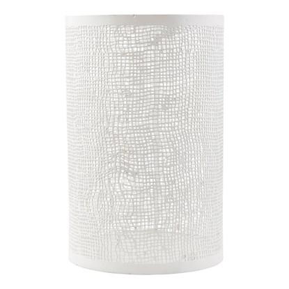 Svícen HESSIAN bílý 19,5cm_0