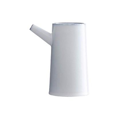 Váza TUBE bílá 17cm_0