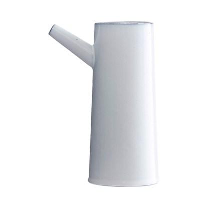 Váza TUBE bílá 22cm_0