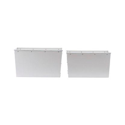 Úložný box bílý 22cm SET/2ks_0