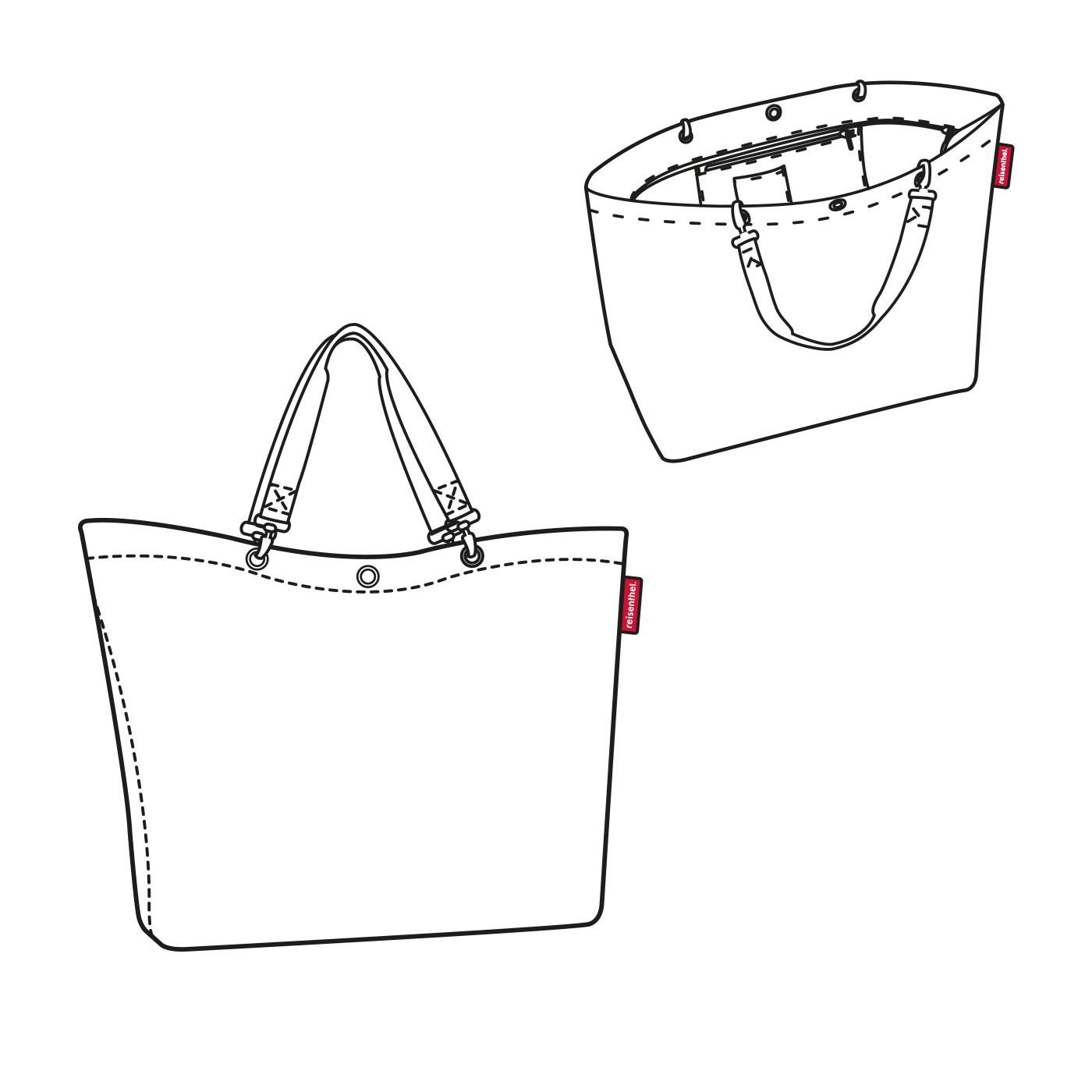 Nákupní taška SHOPPER XL bloomy_0