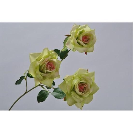 Růže větvička zelená/sv.fialová 57 cm_0