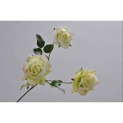 Růže větvička zelená/sv.růžová 57 cm_0