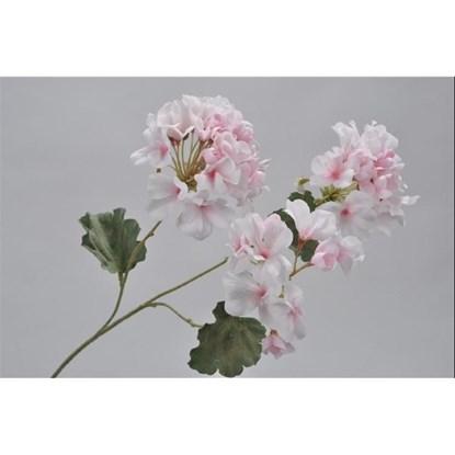 Větvička GERANIUM růžová 58 cm_0