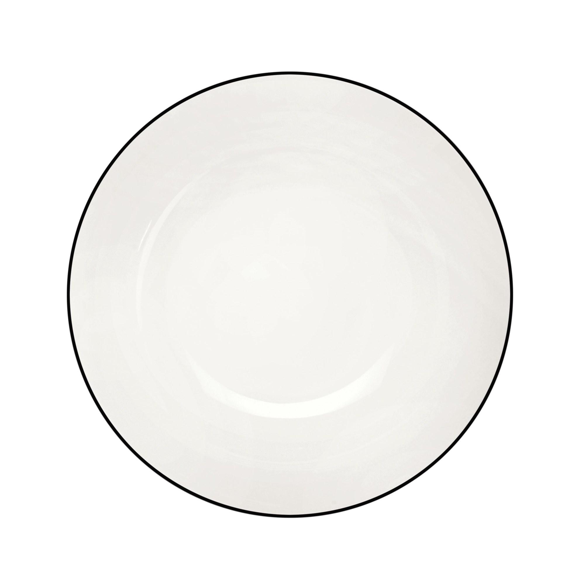 Talíř na polévku/pastu Á TABLE NOIRE 22_0