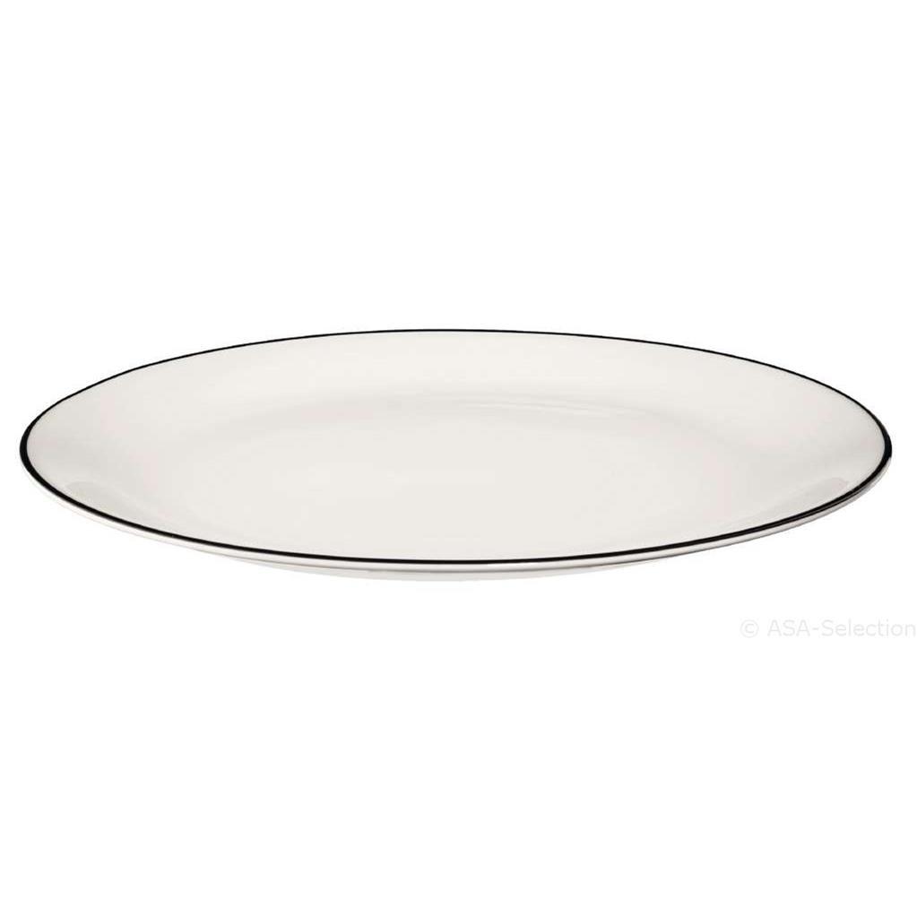 Talíř dezertní Á TABLE NOIRE 21 cm_1