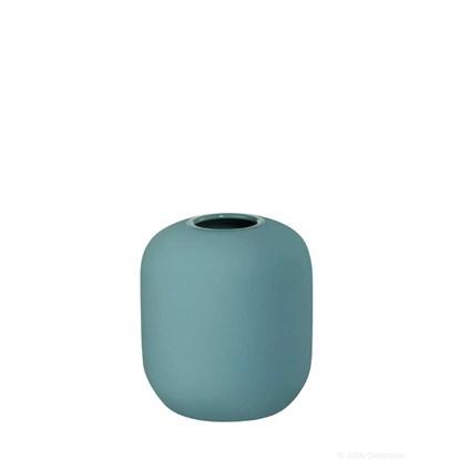 Váza SMOOTHIES 9,5 cm modrá_0