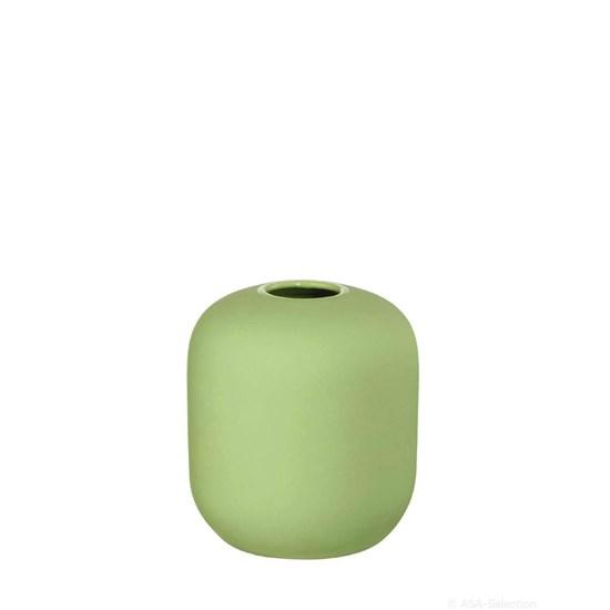Váza SMOOTHIES 9,5 cm zelená_0