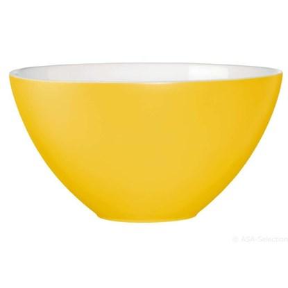 Keramická miska 30 cm žlutá_0