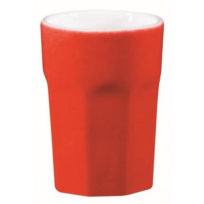 Hrnek Café Latte - červená_0