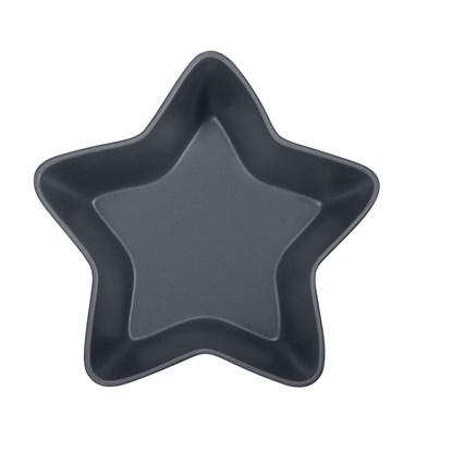 Keramická mísa STAR 24 cm tm.šedá_0